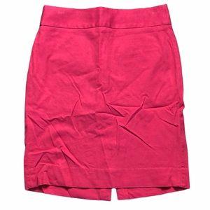 Banana Republic Pink Above the Knee Pencil Skirt